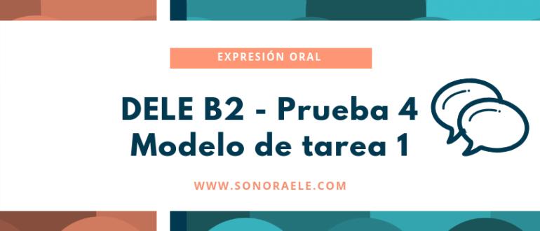 Miniatura DELE B2 Tarea 1 oral